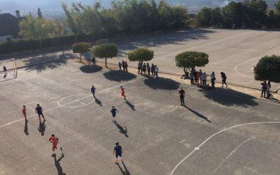 Debut con doble victoria del infantil y benjamin del Club Salesianos Ibi