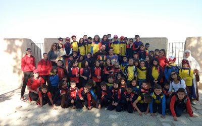 El viernes 17 de noviembre los alumnos de 3º y 4º de primaria visitaron el Castillo de Santa Bárbara en su primera salida conjunta de este curso.
