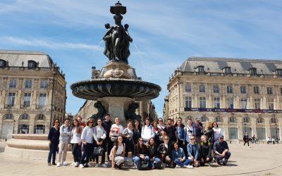 Encuentro europeo de profesores y alumnos en Pauillac (Francia)