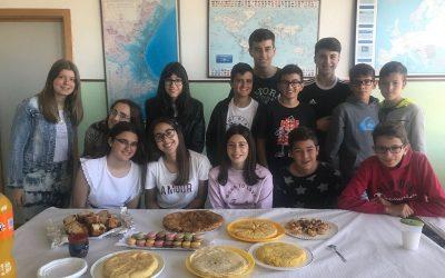 Degustación de recetas elaboradas por los alumnos de 2º ESO de francés
