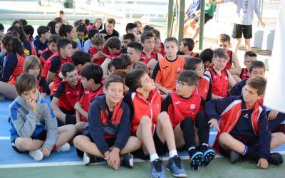 Cerca de 80 alumnos del colegio Salesianos Ibi se dan cita en los Juegos Intersalesianos celebrados en Cartagena.